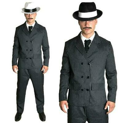 54fc1286cdbf Clothes Shoes Accessories K736 1920s 20s Gangster Set Hat Braces Tie Cigar  Gatsby Mens Costume
