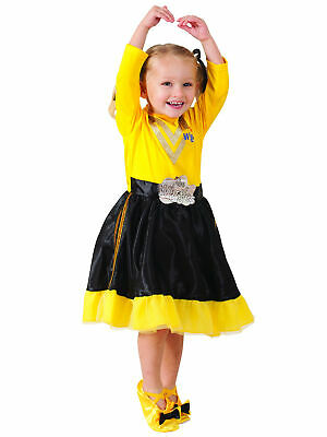 THE WIGGLES Deluxe Costume SIMON Red Wiggle Dress Up size 3-5 or 1-3yr NEW